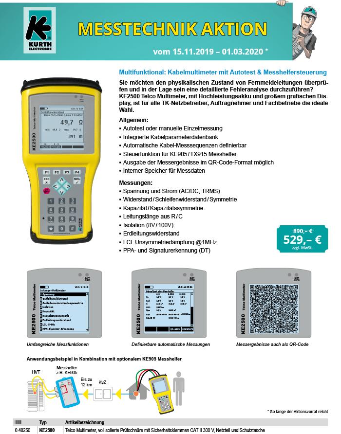 KE Messtechnik-Aktion 2019